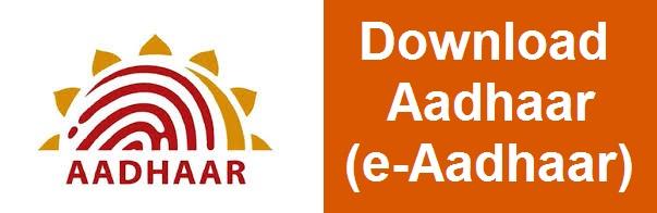 Download Aadhaar : Get e-Aadhaar Online